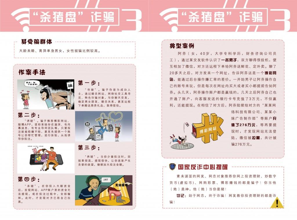 公安部 网络诈骗册子_04